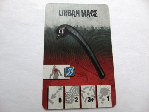 survivor equipment card (urban mace)